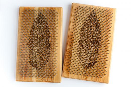 Доска Садху из сосны специальная с рисунком