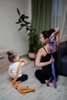Ремень для йоги «Бодхи Де люкс» 250х4 см (2,5 мм)_1
