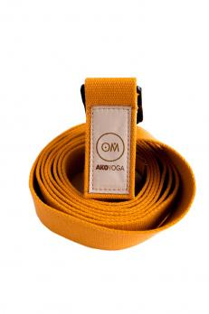 Ремень для йоги «Бодхи Де люкс» 250х4 см (2,5 мм)