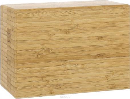 Опорный блок для йоги из бамбука