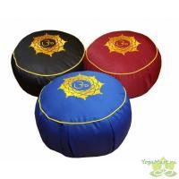 Подушка для медитации «Ом» круглая