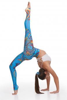 Легинсы для йоги YogaZa Panaji красные