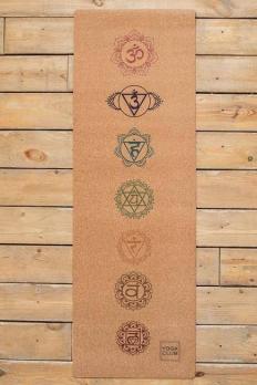 Коврик для йоги Yoga club Chakras