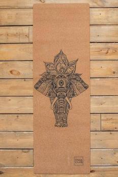 Коврик для йоги Yoga club Elefant