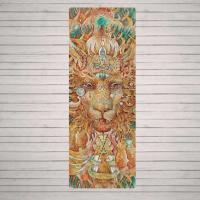 Коврик для йоги Lion YogaID 173x61см