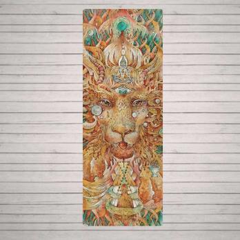 Коврик для йоги Lion OMMA