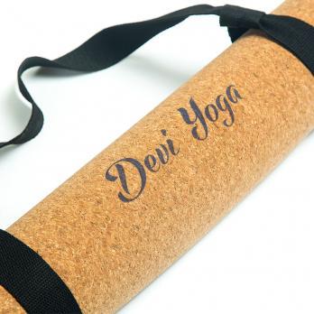 Пробковый коврик для йоги Devi Yoga