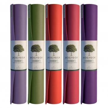 Коврик для йоги Jade Harmony 173 см. разных цветов