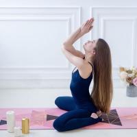 Коврик для йоги Rose Gold Yogamatic_2