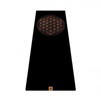 Удлинённый коврик для йоги Цветок жизни Yogamatic