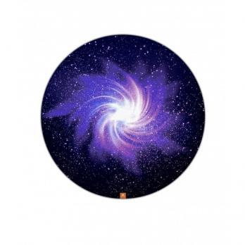 Круглый коврик для йоги Галактика 140 х 140