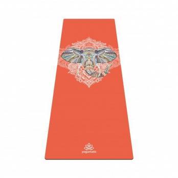 Коврик для йоги из натурального каучука Слон