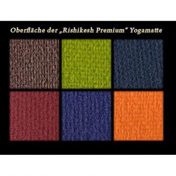 Коврик для йоги «Ришикеш Про» 183х60 см (4,5 мм)