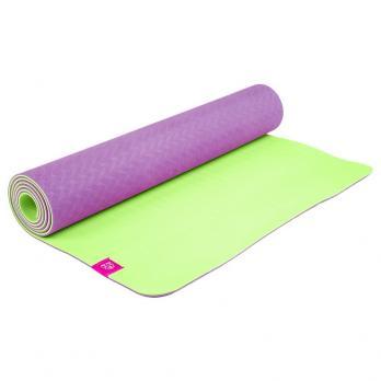 Коврик для йоги с разметкой DY Инжир