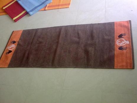 Коврик для йоги из хлопка 5 мм