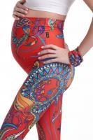 Легинсы для беременных YogaZa Panaji красные