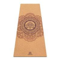 Пробковый коврик для йоги Мандала Yogamatic