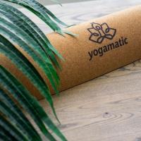 Пробковый коврик для йоги Лотос Yogamatic_5