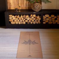 Пробковый коврик для йоги Лотос Yogamatic_2