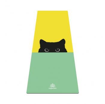 Коврик для йоги Yogamatic Yoga Cat