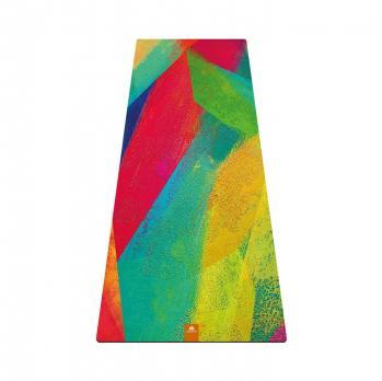 Travel коврик для йоги Краски Yogamatic