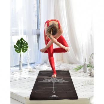 Удлинённый коврик для йоги Lotos Yogamatic