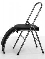 черный стул с бэкбендером