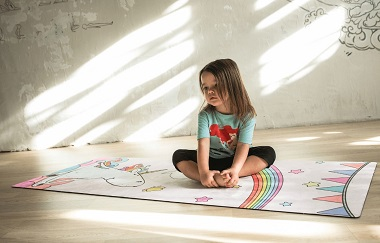 Коврик для йоги детский EgoYoga Kids 150х61 см