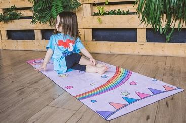 Коврик для йоги «Unicorn» детский 150х61 см