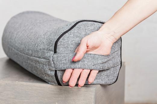 Болстер для йоги рогожа 70 см