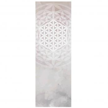 Легкий коврик для йоги Yoga Club Цветок Жизни