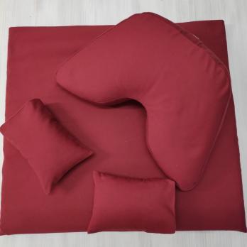 Комплект для медитации красный