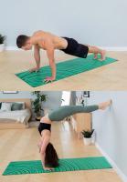 Коврик для йоги POSA Ripple_1