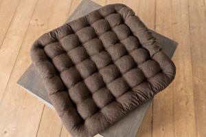 Йога-подушка для медитации (рогожа) квадратная