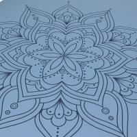 """Коврик для йоги """"Мандала"""" Devi Yoga_3"""
