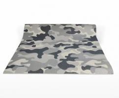 Йога коврик с рисунком Military