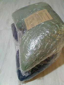 Подушка для медитации зеленая