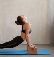 Кирпич для йоги из пробки большой_1