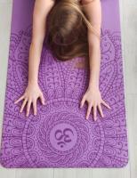 Коврик для йоги Yoga club Pro OM