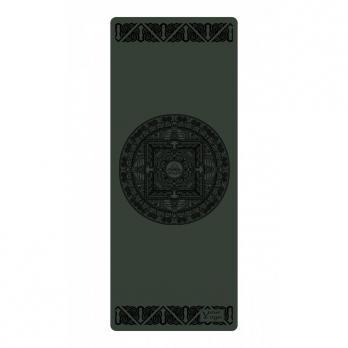 """Коврик для йоги """"Tibet Mandala"""" черный"""