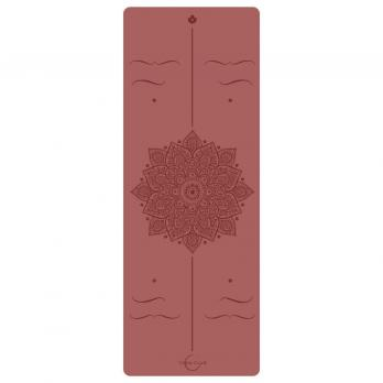 Коврик для йоги Yoga club PRO AMRA RED