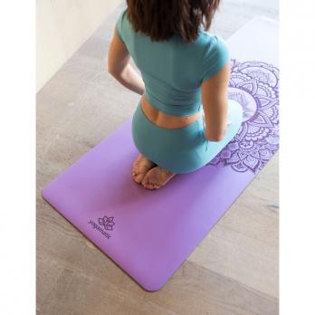 Коврик для йоги Yogamatic MANDALA PURPLE