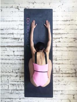 Коврик для йоги Yoga Club BLACK