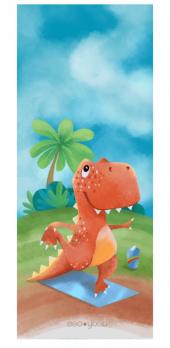 Коврик для йоги «Dino» детский EgoYoga 150х61 см