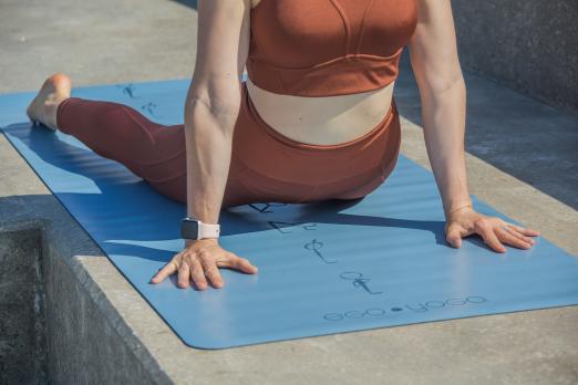 Коврик для йоги Surya Namaskar Lite Ego Yoga