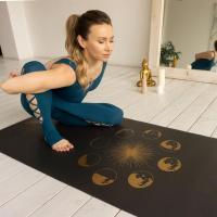 Коврик для йоги  SUN&MOON GOLD Yogamatic_2