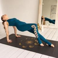 Коврик для йоги  SUN&MOON GOLD Yogamatic_3