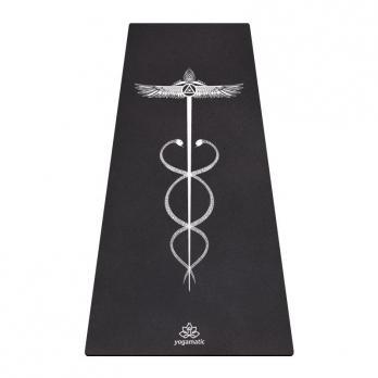 Удлинённый коврик для йоги CADUCEI Yogamatic