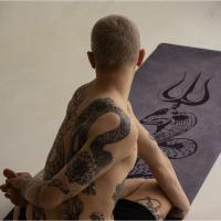 Удлинённый коврик для йоги Shiva Yogamatic_4