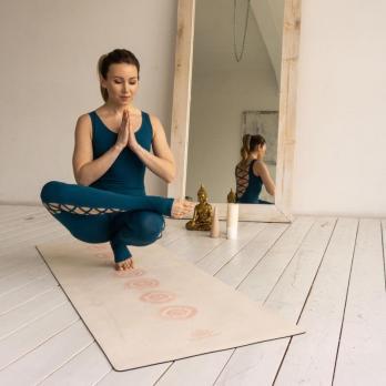 Коврик для йоги Чакры Yogamatic